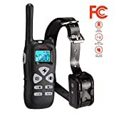 #5: Iduola Dog Training Collar with Remote Dog Training Shock Collar for Small Medium Large Dogs, [2018 Upgraded Version] 1800ft Waterproof Rechargeable with Beep/Vibration/Electric Shock (6.6lbs-125lbs)