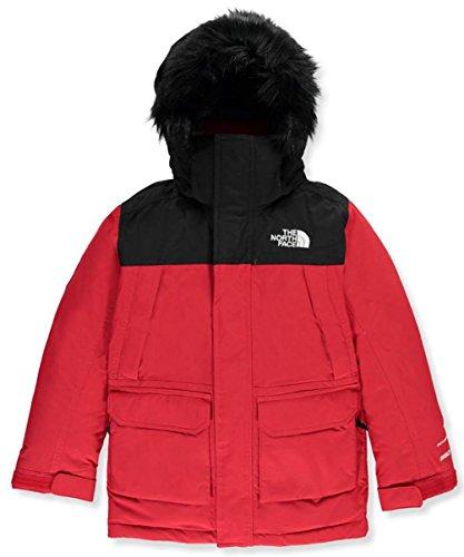 The North Face Big Boys 'McMurdo Down Parka (tamaños 8–20), TNF Rojo