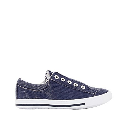 La Redoute Collezioni Big Boys Canvas Trainers, 26-40 Blu