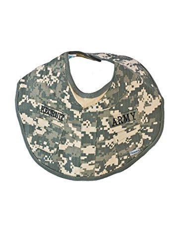 #2000 Army ACU Camoflauge Recruit Baby BIB Army Bib