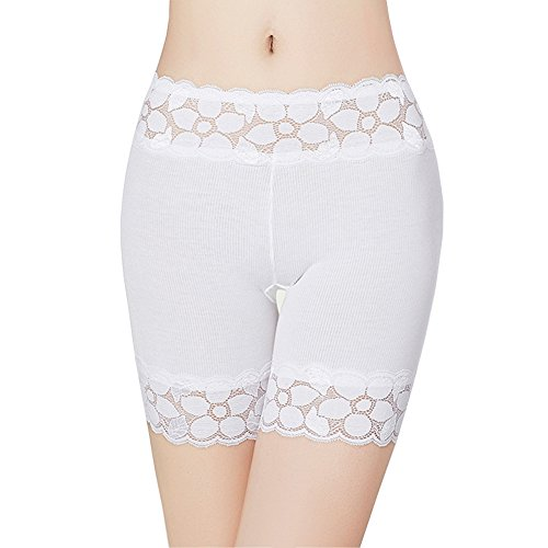 HNYG Women's Safety Shorts 3 Packs Underwear Pants Lace Leggings Freesize A651 by HNYG (Image #2)