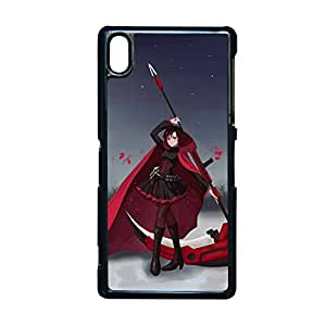 Generic Creativity Phone Cases For Child Print With Rwby Ruby Rose For Sony Z2 Choose Design 2