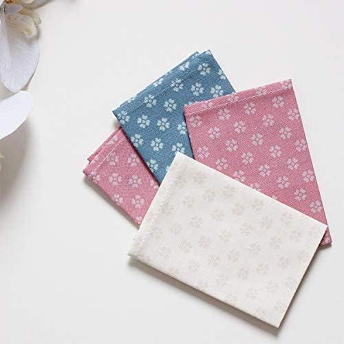 VIVADOMO Stofftaschentücher 12 Stück Damen Baumwolle Umweltfreundlich Blumen
