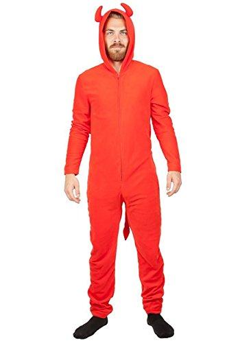 Bioworld Devil Red Union Costume Suit X-Large