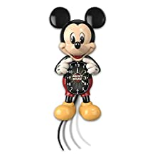 Disney Mickey Mouse Wall Clock with Moving Eyes and Tail by The Bradford Exchange