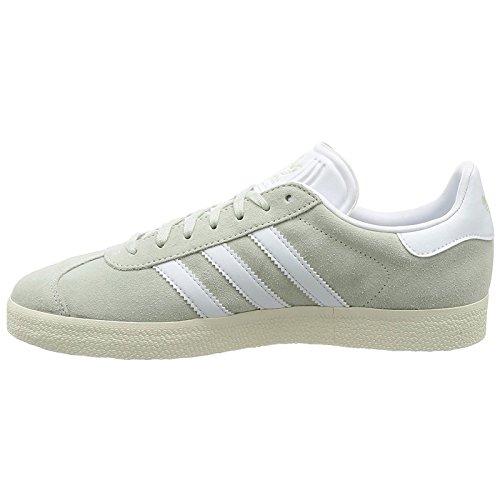 Adidas Mens Gazelle Casual Sneakers Lingrn / Ftwwht / Goldmt