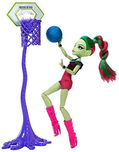 Monster high Venus Mcflytrap Casketball champ -