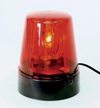 MBT Lighting Compact Rotating Beacon - Red