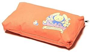 B00WFVNCS4R0X Touchdog Lazy-Bones Rabbit-Spotted Premium Easy Wash Couch Dog Bed, Ocean Blue, Orange, LG