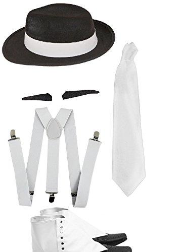 glamour gangster fancy dress - 1