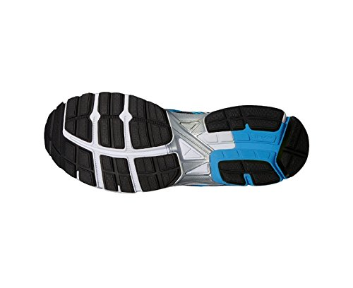 Asics - Gelinnovate 6 - T524N9948 - Color: Negro - Size: 43.5 Azul-Negro-Plateado