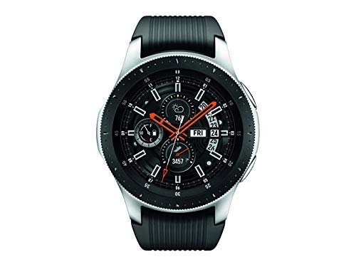 (Samsung Galaxy Watch (46mm) Silver (Bluetooth), SM-R800 - International Version -No Warranty)