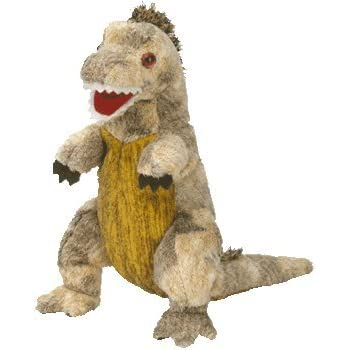 5a332faa63c Amazon.com  TY Beanie Baby - HORNSLY the Dinosaur  Toy  by Ty TOY ...