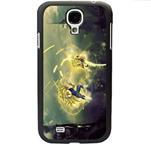 Dragon Ball Manga Comic Slim Vegeta Samsung Galaxy S4 SIV I9500 TPU Soft Black or White case (Black)