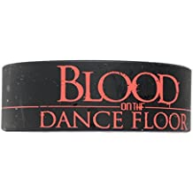Licenses Products Blood On The Dance Floor Logo Rubber Wristband