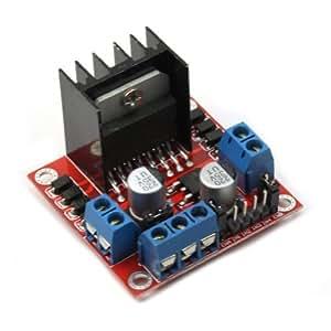 Motor drive controller board module l298n dual for L298n stepper motor driver