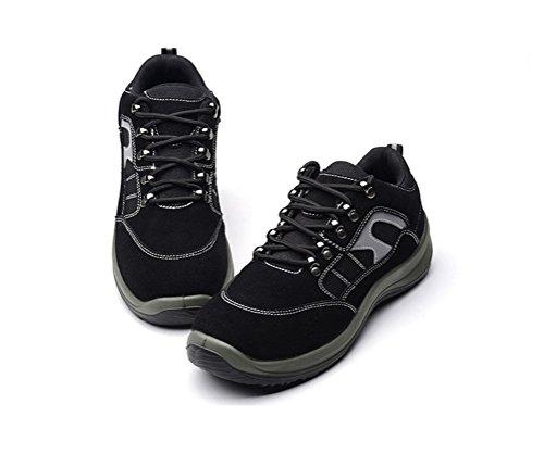Wanneer Dames / Heren Werklaarzen Comfort Werkschoenen Zwart Maken