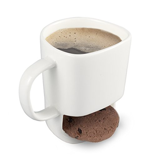 Neolith Cookie Mug Cup with Biscuit Holder Dunk Mug
