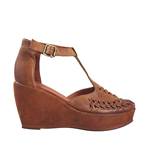 Antilope Femmes 813 Cuir Mary Janes Tabac