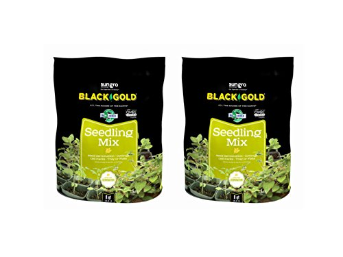 (Black Gold 16 Qt Seedling Mix (Pack of)