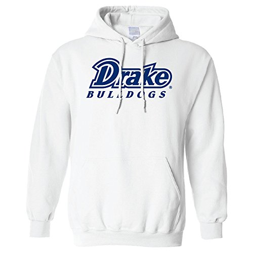 Campus Merchandise NCAA Drake Bulldogs Long Sleeve Hoodie, Medium, ()
