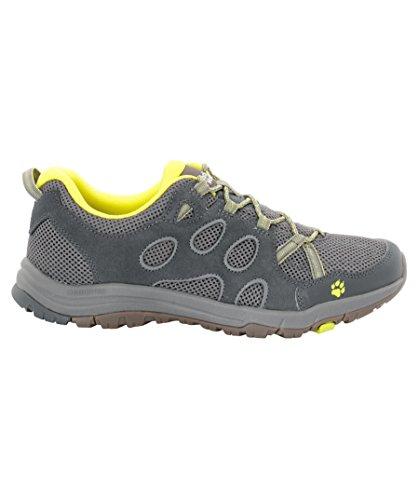 Jack Wolfskin Mens Rocksand Chill Light Breathable Walking Shoes Flashing Green