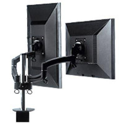 Chief Manufacturing K2 Column Mount Dual Display Dual Stand 2l Arms, Black K2C220B from Chief