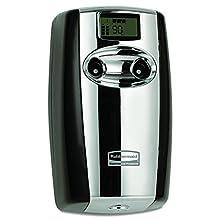 Rubbermaid Commercial Microburst Duet Air Freshener, Black/Chrome, FG4870055