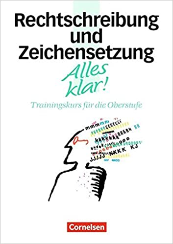 Alles Klar Deutsch Sekundarstufe Ii 11 13 Schuljahr