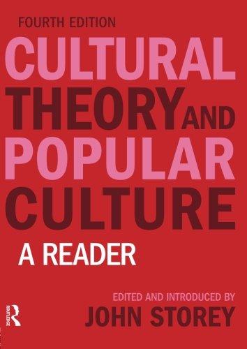 Cultural Theory+Popular Culture:Reader