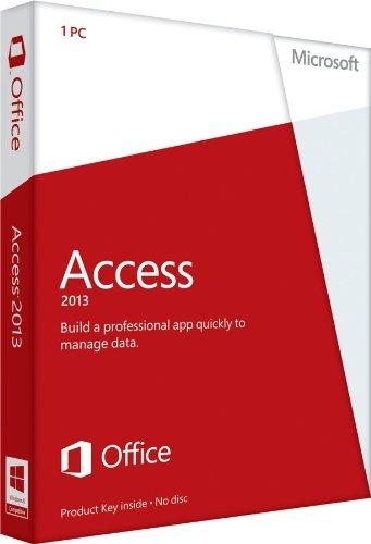 Microsoft Access 2013 Card Disc