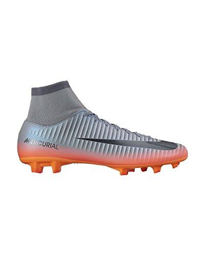 Nike Mercurial Victory Vi Dynamic Fit Cr7 Fg, Botas de Fútbol para Hombre Naranja, Plata