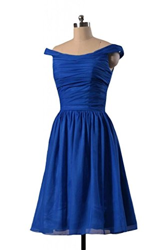 35 DaisyFormals Party Shoulder Bridesmaid Chiffon BM4080 navy Off Short Dress Dress RYqzRB4nw