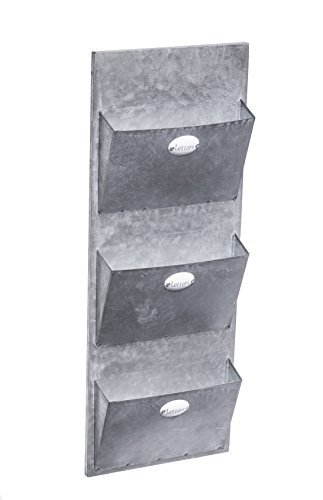 dwellbee-metal-wall-storage-and-mail-sorter-3-tier-galvanized-steel