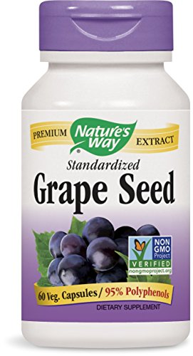 Nature's Way Grape Seed, 60 Vcaps (Natures Way Extract)