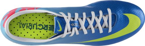 Nike Mercurial Ix Sg Pro Menns Fotballsko Cleats 555607 474 Neptune Blå Kommer Med Mercurial Kit Bag Fotball