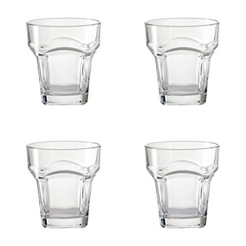 Amici San Marco Collection Double Old Fashioned Glasses, 9 oz - Set of 4
