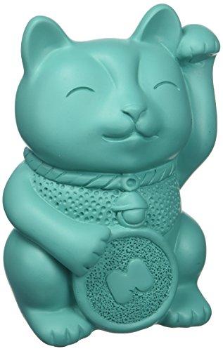 Mustard Lucky Cat Pen Pot, Pencil Holder (5055998804395)