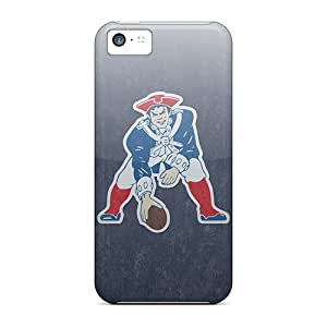 Anti-Scratch Cell-phone Hard Covers For iphone 6 plus With Unique Design Colorful New England Patriots Pictures SherriFakhry