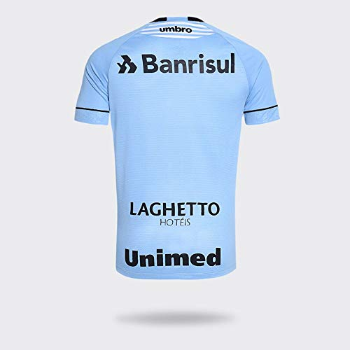 Camisa Umbro Grêmio 2018 Charrua Azul Claro Masculina M 0567e1590f525