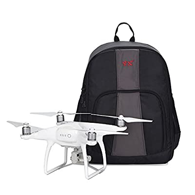 Bangcool Drone Backpack, Waterproof Carrying Case for DJI Phantom 3 Quadcopter Travel Shoulder Bag
