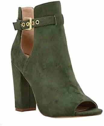b16ba998c360c Shopping Buckle - Green - Boots - Shoes - Women - Clothing, Shoes ...