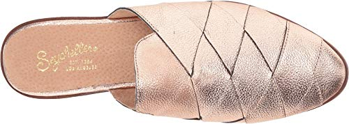 Seychelles Gold Women's Rose Survival Leather Mule F6qx8HTz6w