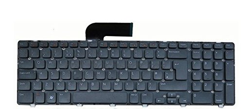 Dell Cable Keyboard (Replacement Keyboard for Dell Inspiron 17R N7110 Vostro 3750 Laptop Keyboard 454RX)