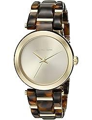 Michael Kors Womens Delray Tort Watch MK4314