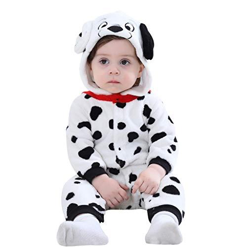 Kmart Halloween Decorations 2019 (iLOOSKR Winter Warm Baby Toddler Animals Cosplay Boys Girls Cute Cartoon Pajamas Bodysuit)
