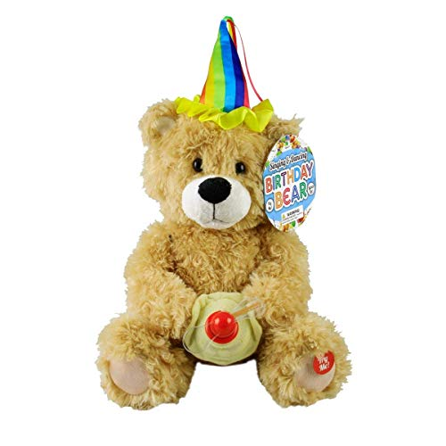 Singing Plush Birthday Bear]()