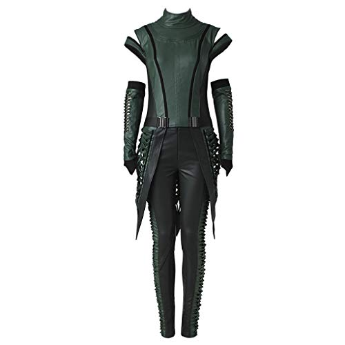 CosplayDiy Women's Suit for Guardians of The Galaxy Vol. 2 Mantis Cosplay cm Dark Green -