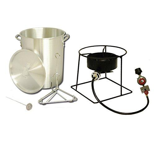 King Kooker # 1266 Portable Propane Outdoor Turkey Fryer, 29-Quart (King Kooker 12 Outdoor Portable Propane Burner)