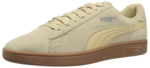PUMA Men's Smash v2 Sneaker, Pebble, 9 M US